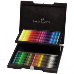 Cutie Lemn Polychromos Desen Nou 72 Buc Faber-Castell